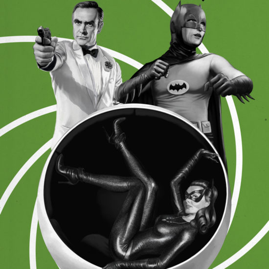 007 James Bond and Batman