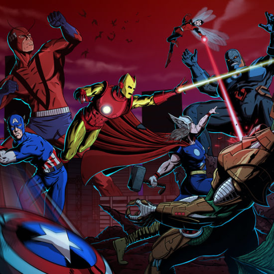 Avengers vs. Darkseid