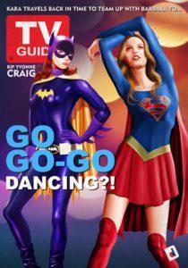 Bat Girl Super Girl