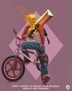 Ghost Rider BMX