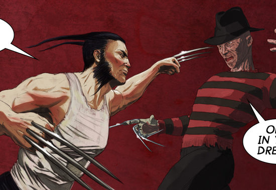 Wolverine vs. Freddy