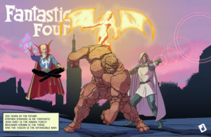 Fantastic Four 300 Years in the Future