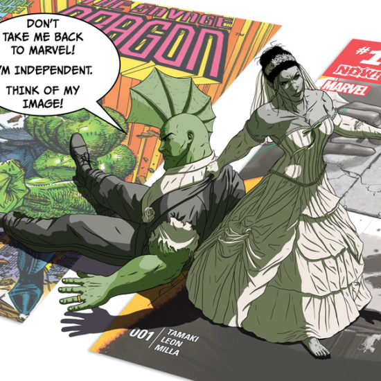 The Wedding of The Savage Dragon and Sensational She-Hulk