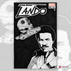 Lando Original Artwork Sketch Cover