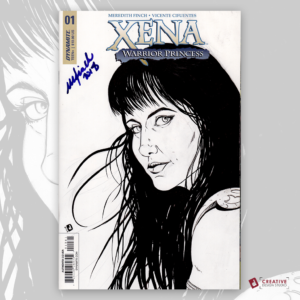 Xena Original Artwork Sketch Cover