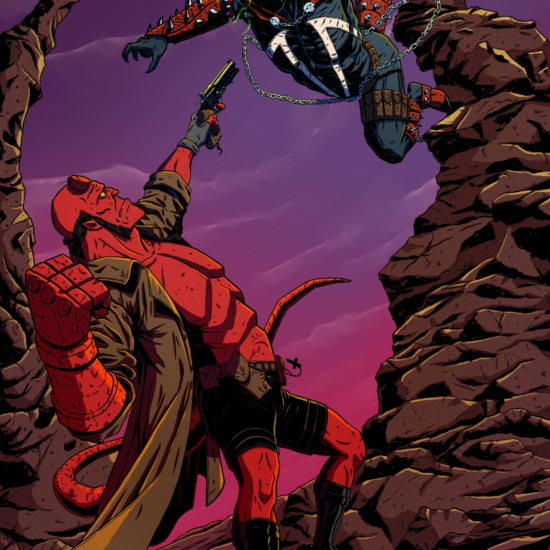 Hellboy vs. Spawn