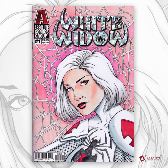White Widow Sketch Cover