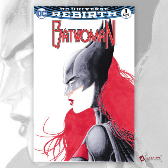 Batwoman Sketch Cover