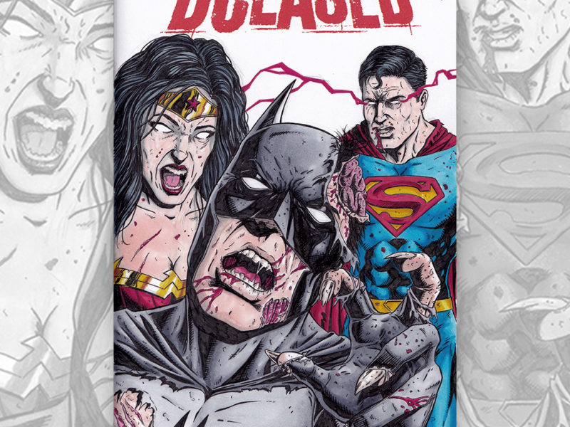 DCEASED Sketch Cover by David Jacob Duke