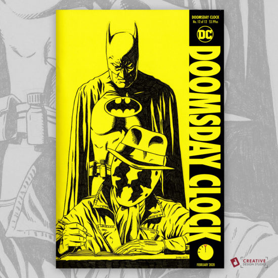 Doomsday Clock Sketch Cover by David Duke