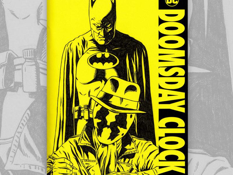 Doomsday Clock Sketch Cover by David Duke