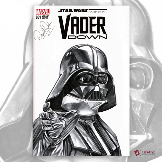 Darth Vader Sketch Cover