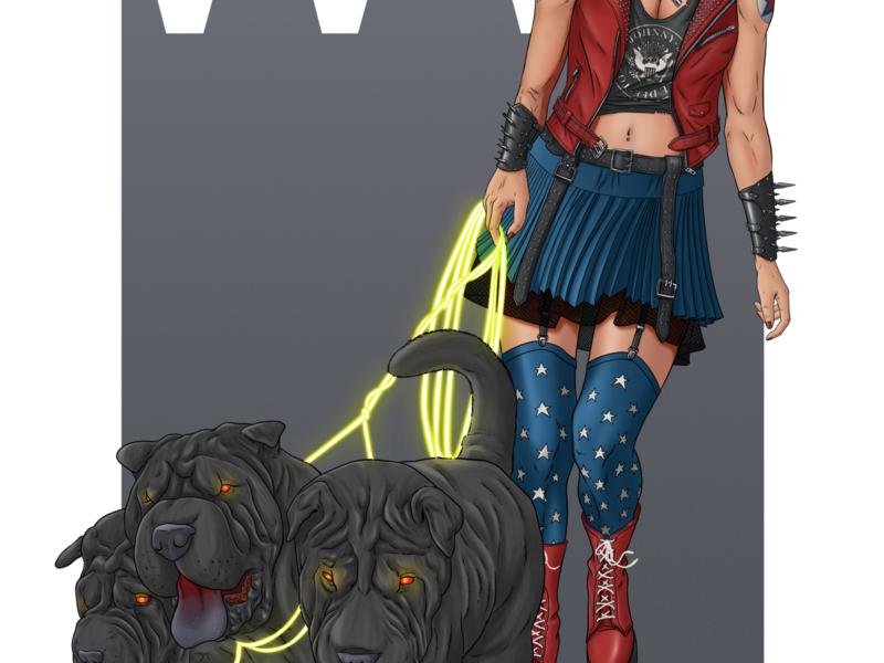 Punk Rock Wonder Woman