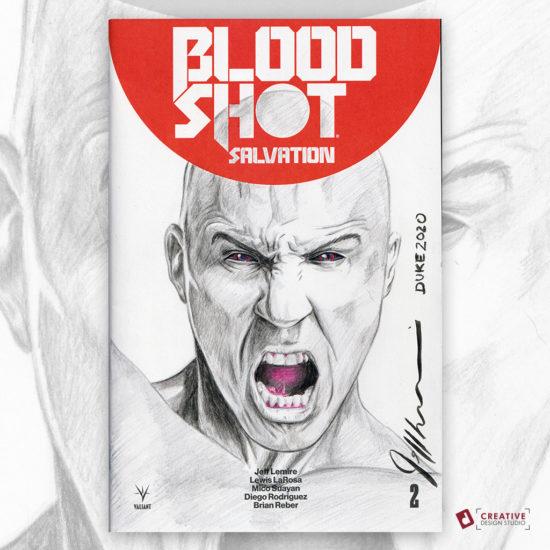 Bloodshot Sketch Cover