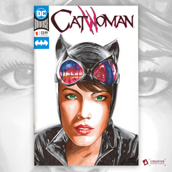 Catwoman Sketch Cover
