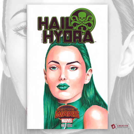 Viper Hydra Sketch Cover