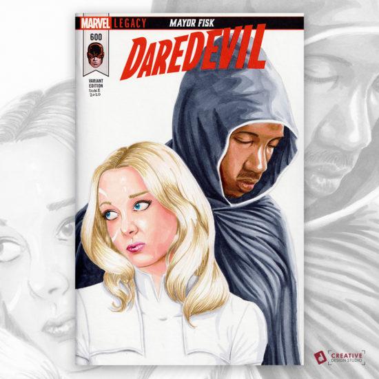 Cloak and Dagger Sketch Cover