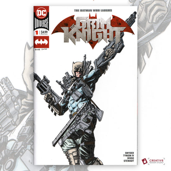 Batman Grim Knight Sketch Cover