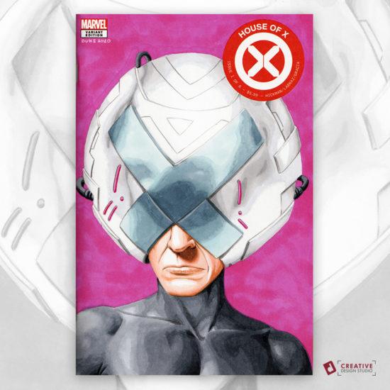 Professor X Sketch Cover