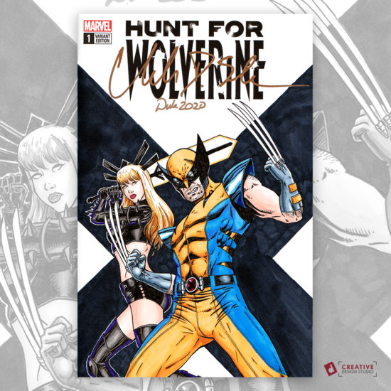 Wolverine Magik Sketch Cover
