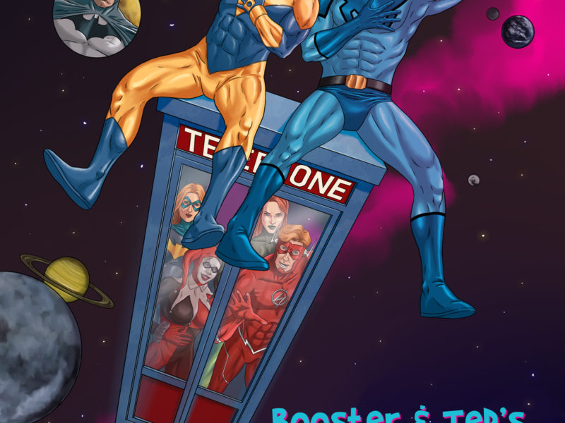 Booster Gold and Blue Beetle Excellent Adventure