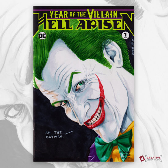 The Joker Sketch Cover