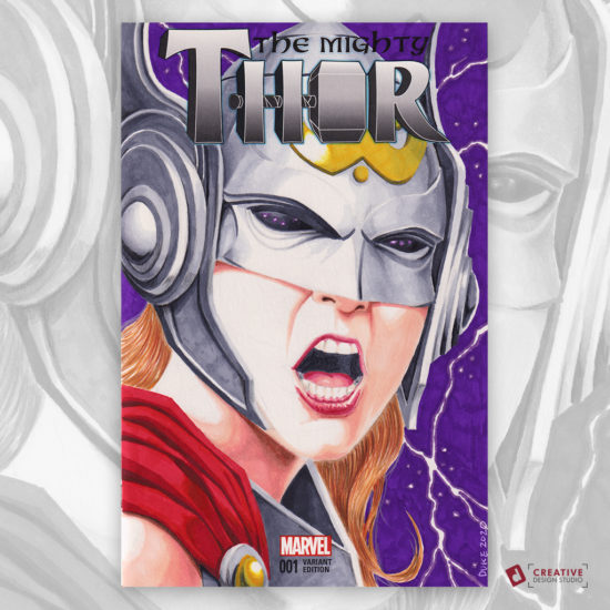 Jane Thor Sketch Cover
