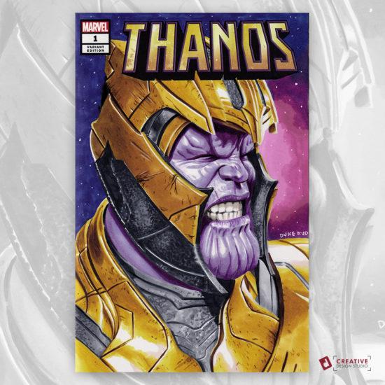 Thanos Sketch Cover