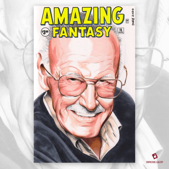 Stan Lee Sketch Cover