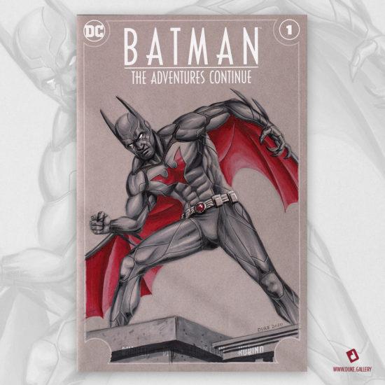 Batman Beyond Sketch Cover