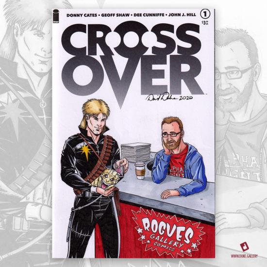 Cross Over Longshot Sketch Cover