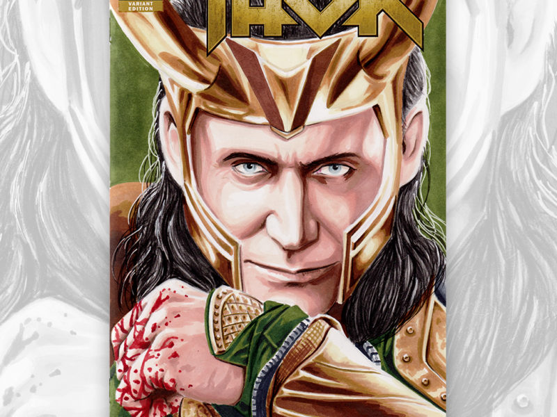 Loki Sketch Cover
