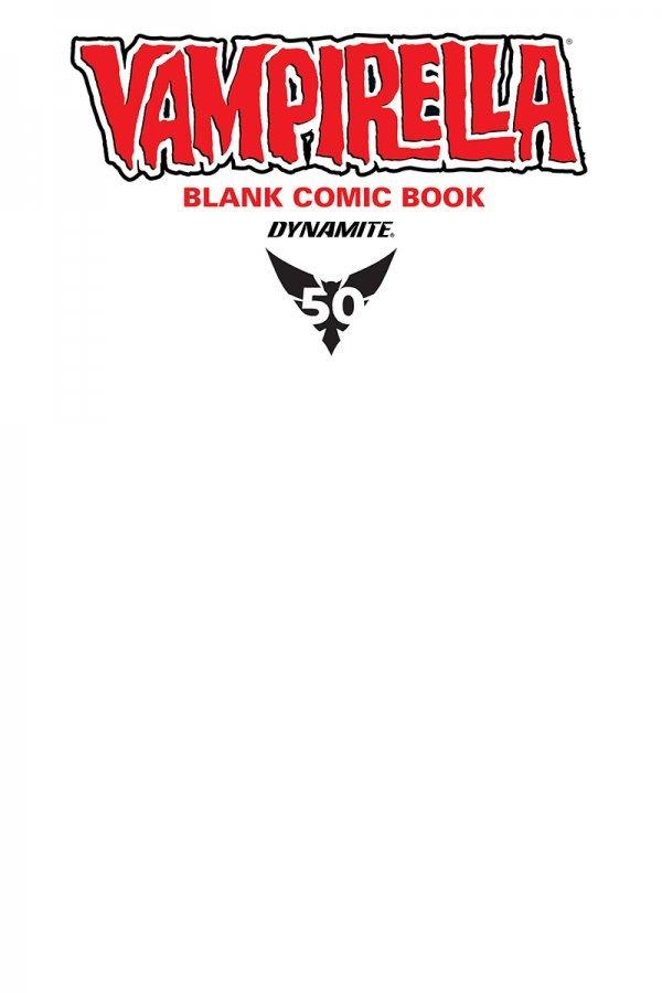 Vampirella Blank Comic Book #1