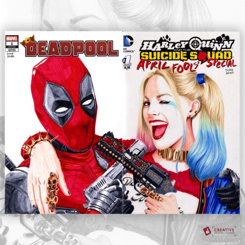 Deadpool Harley Quinn