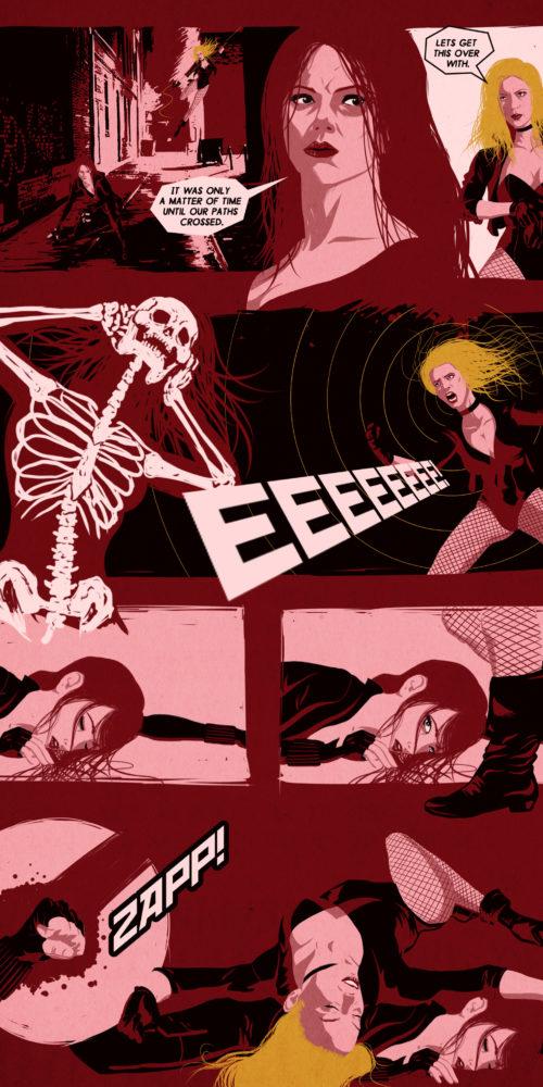 Black Widow vs. Black Canary