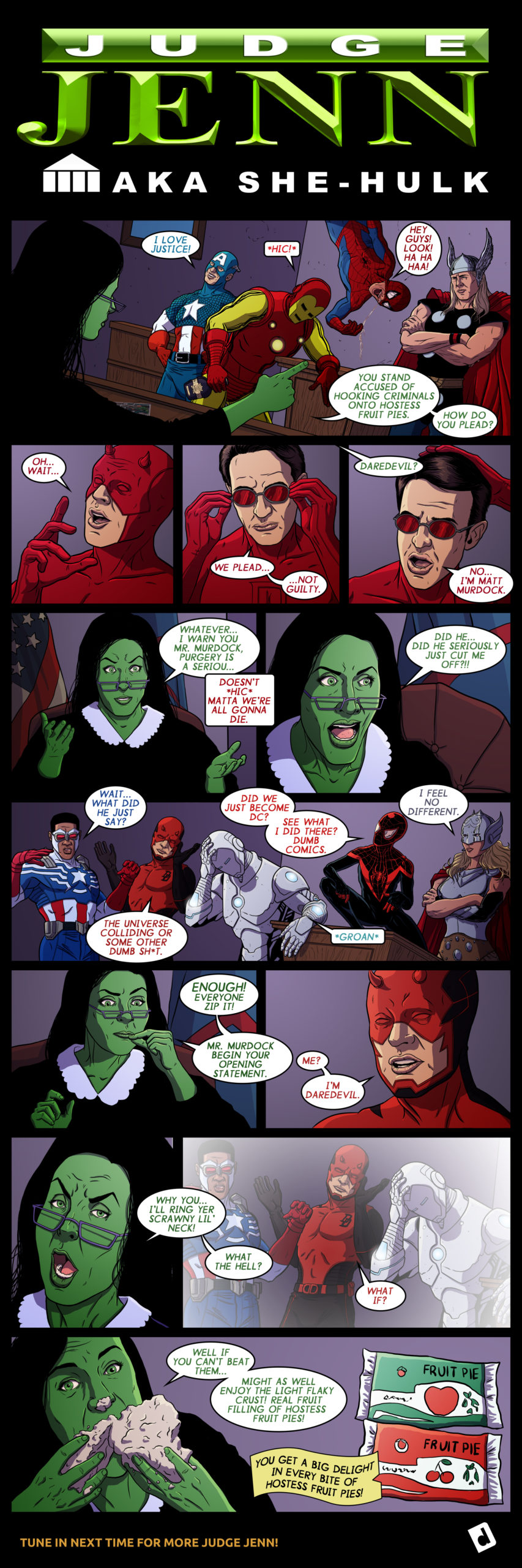 She-Hulk Hostess