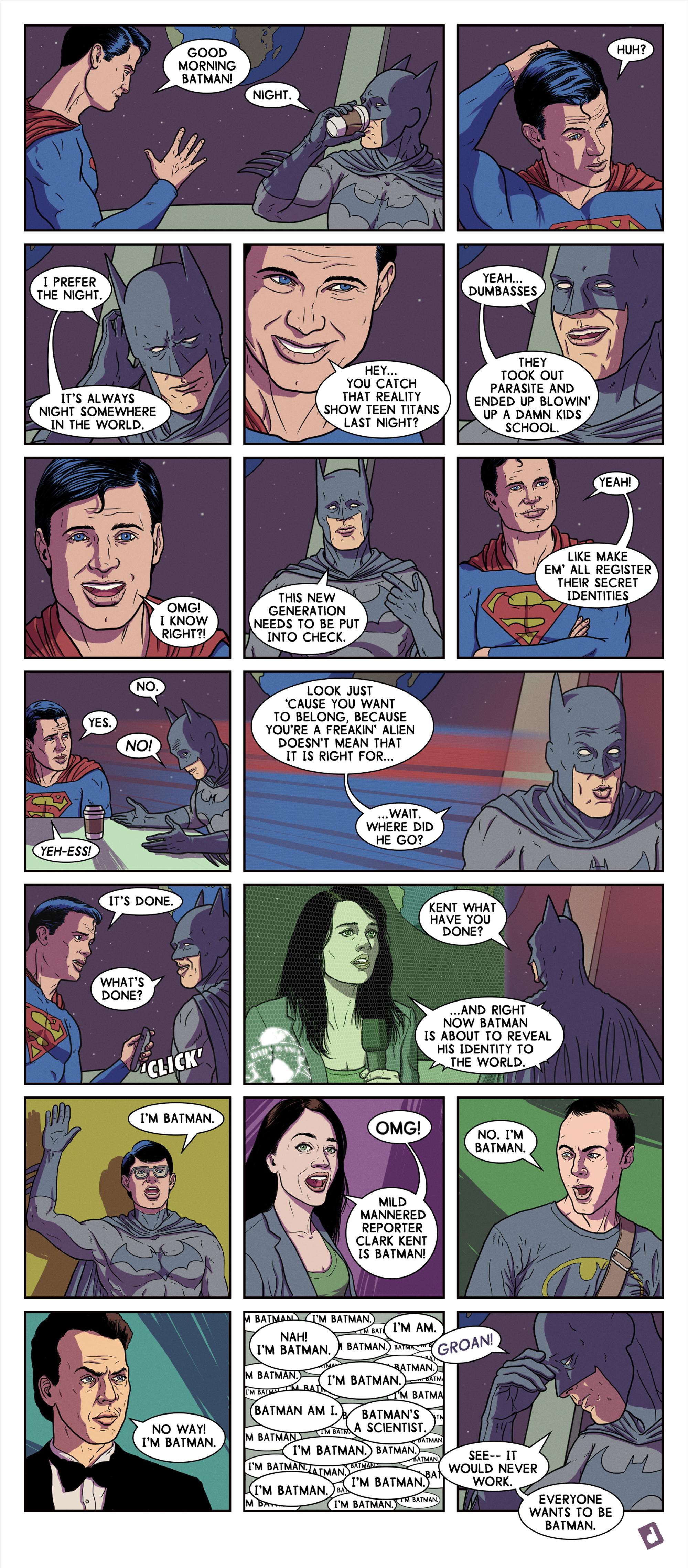 Civil War: Batman Vs. Superman