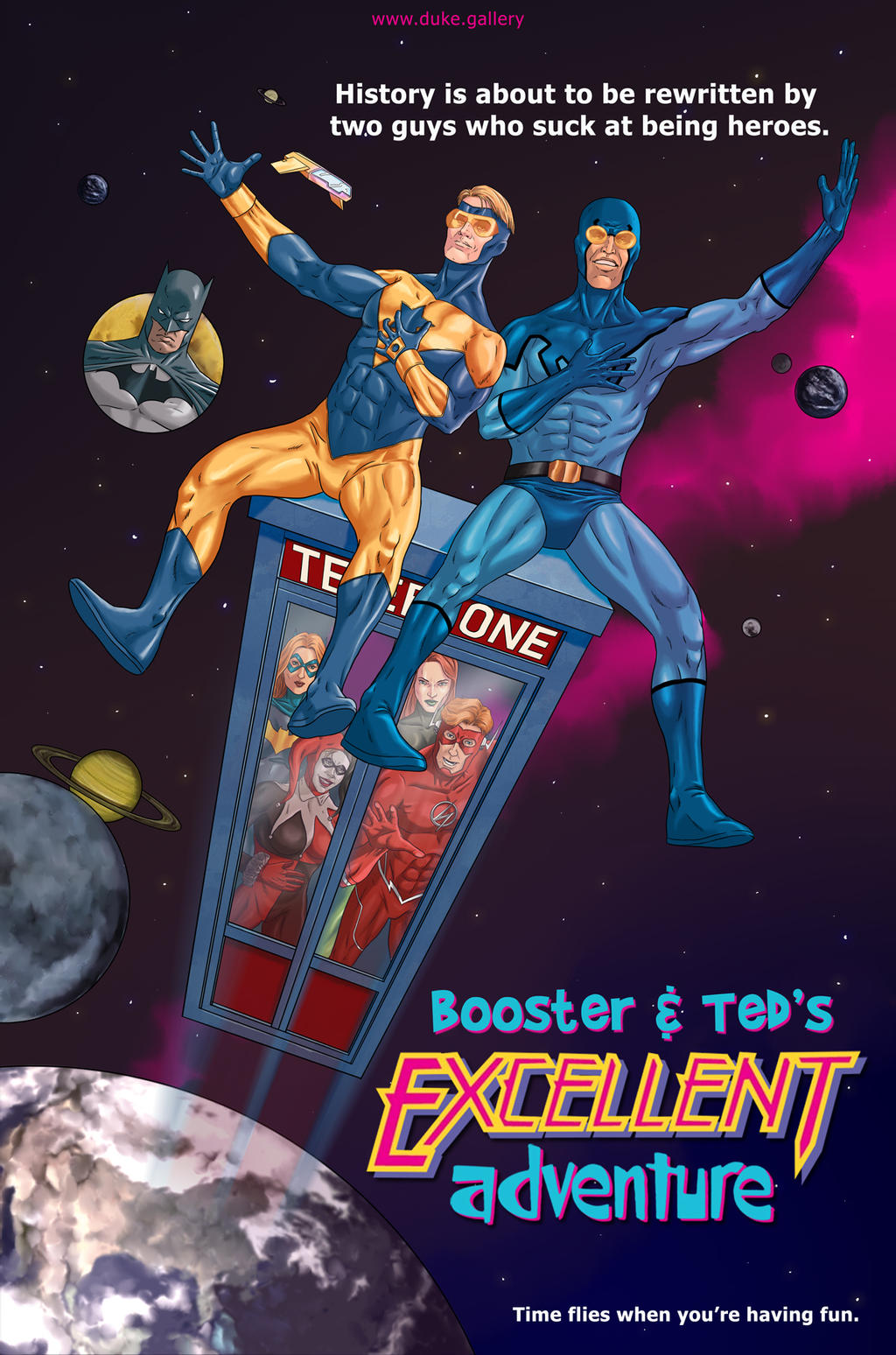 Booster and Teds Excellent Adventure
