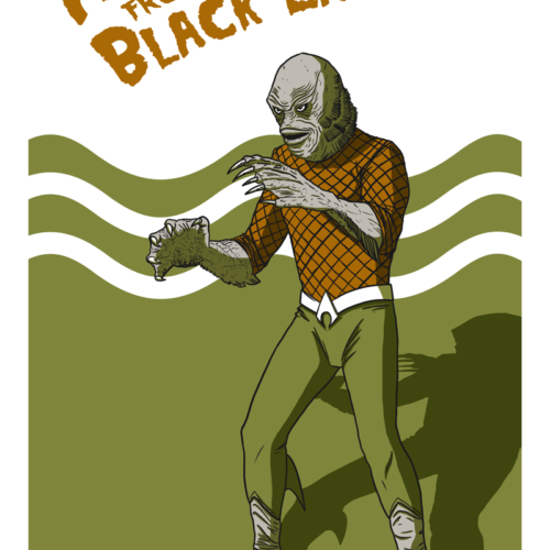 Aquaman from the Black Lagoon