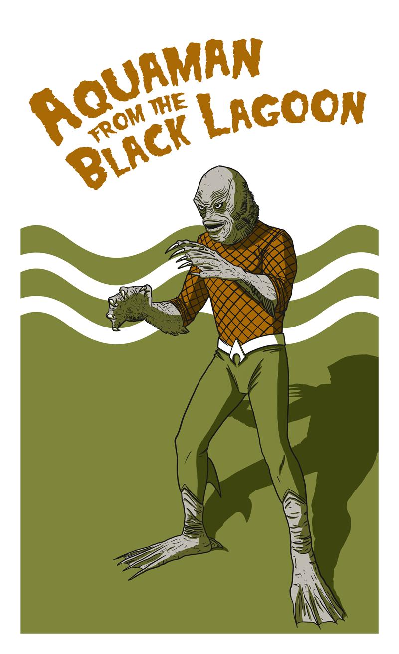 Aquaman from the Black Lagoon