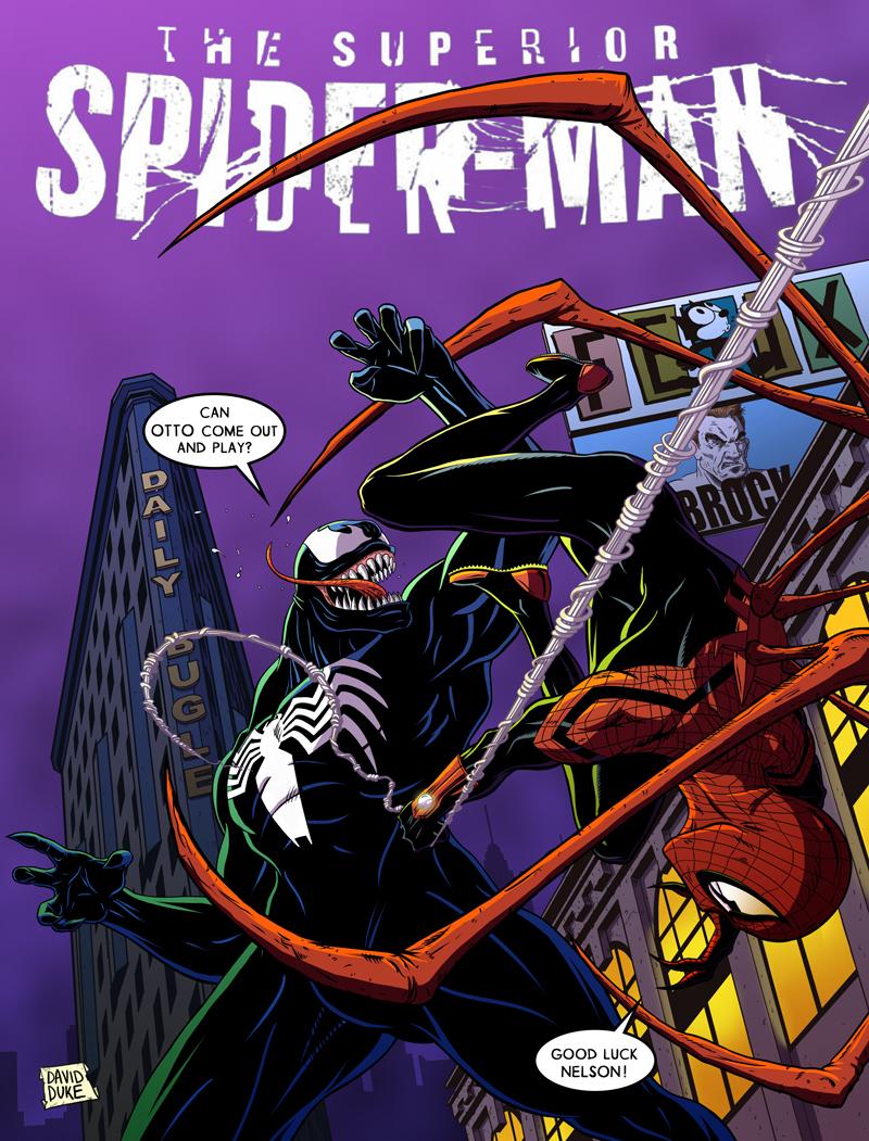 Venom vs. Superior Spider-Man