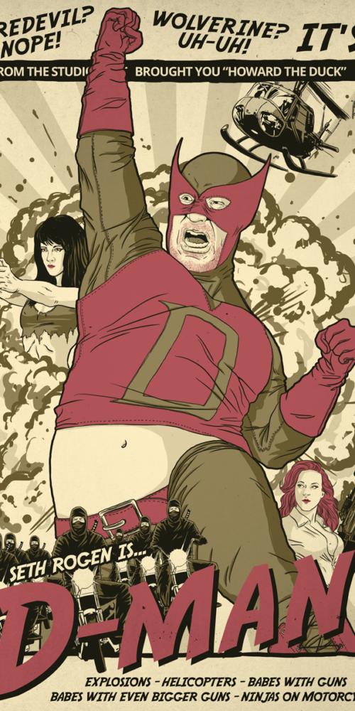 Seth Rogen as D-Man