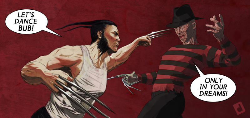 Wolverine vs. Freddy