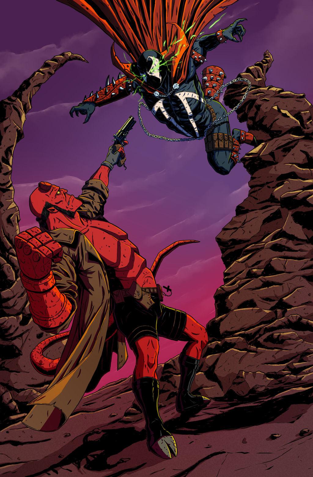 Hellboy vs. Spawn