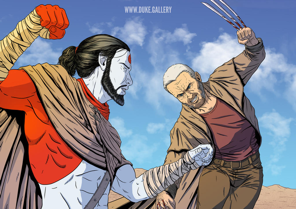 Rai vs. Old Man Logan
