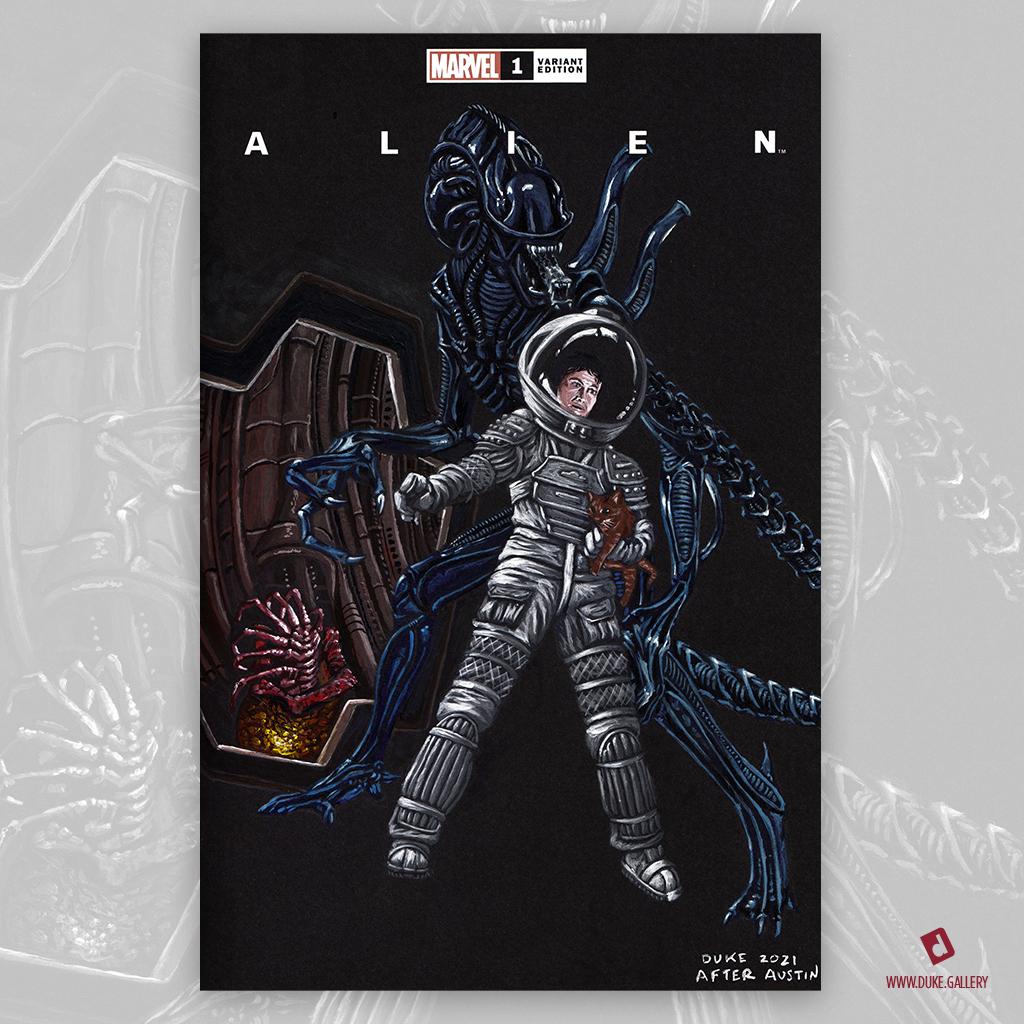 Alien: X-Men 143 Homage